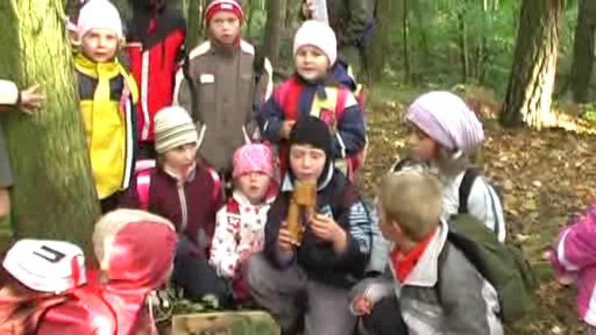 Barevný podzim na ZŠ Poběžovice