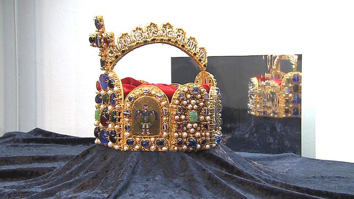 Kopie císařské koruny