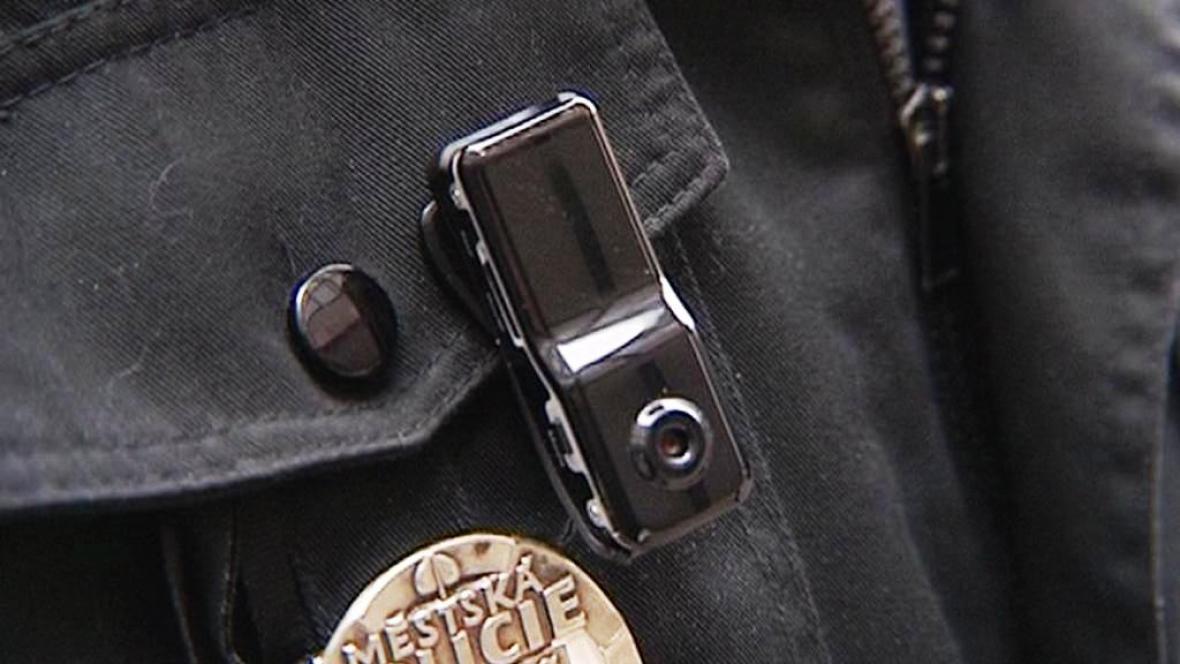 Mini kamera městské policie