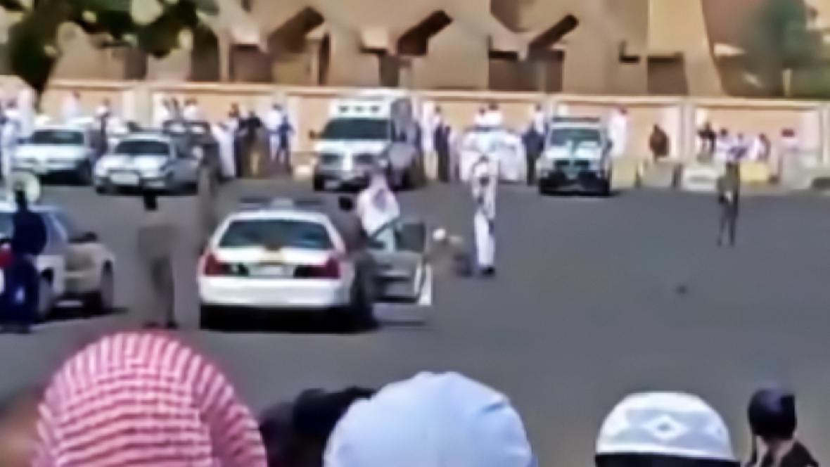 Veřejná poprava Abdala Hamída v Medině