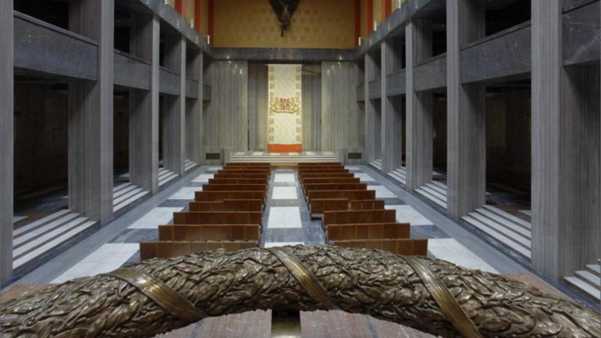 Interiér Národního památníku na Vítkově