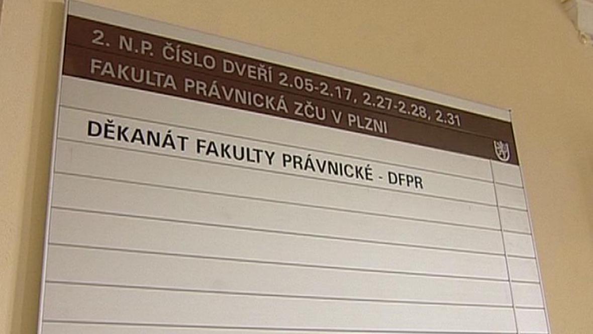 Právnická fakulta v Plzni