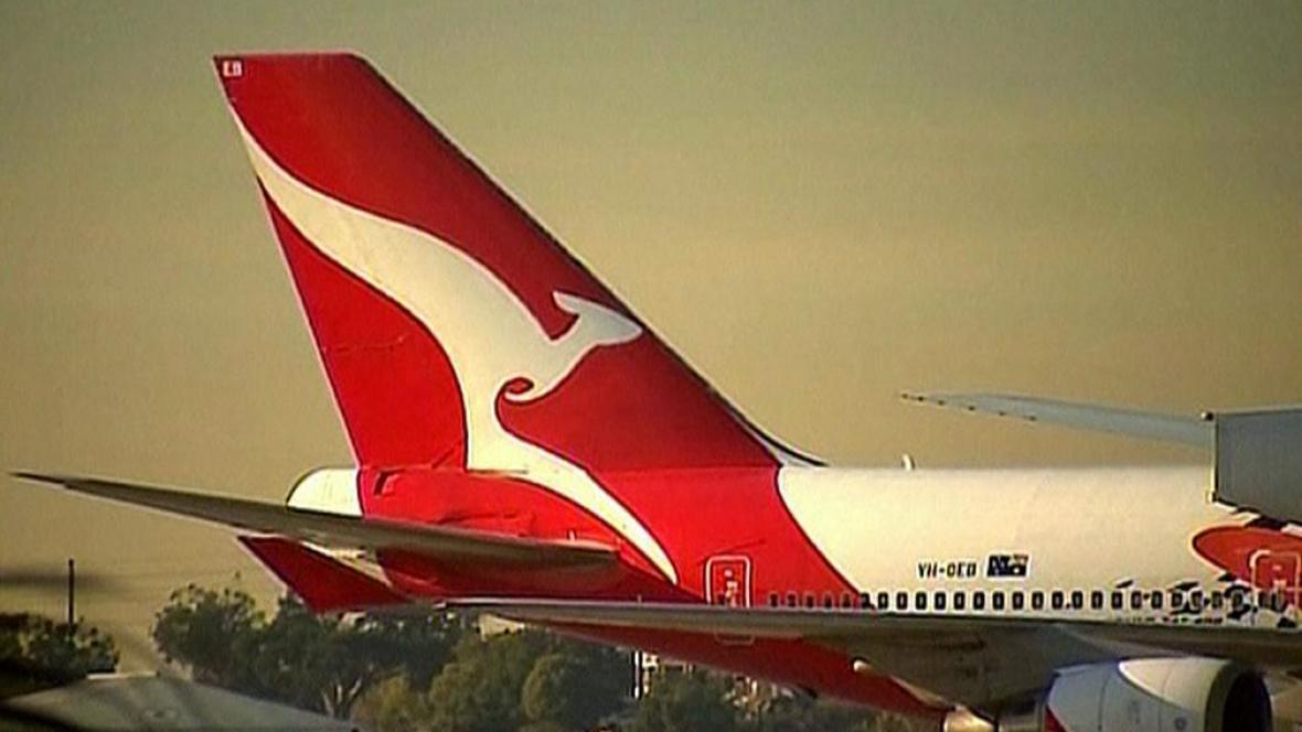 Australská letecká společnost Qantas Airways