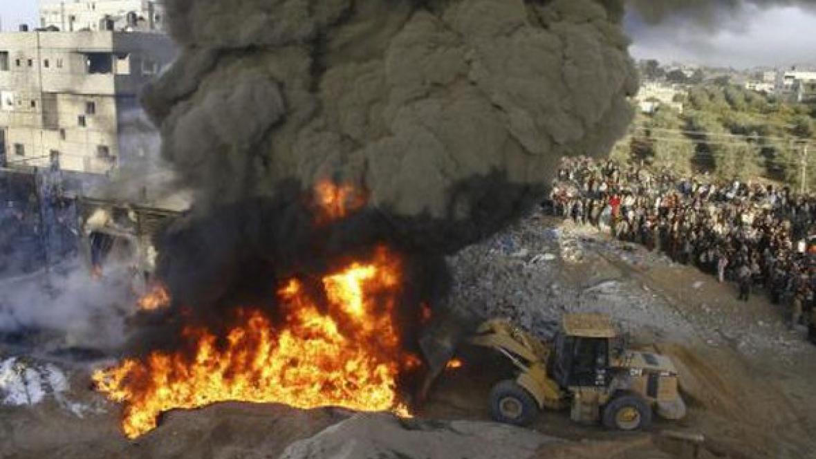Izraelské nálety v Gaze