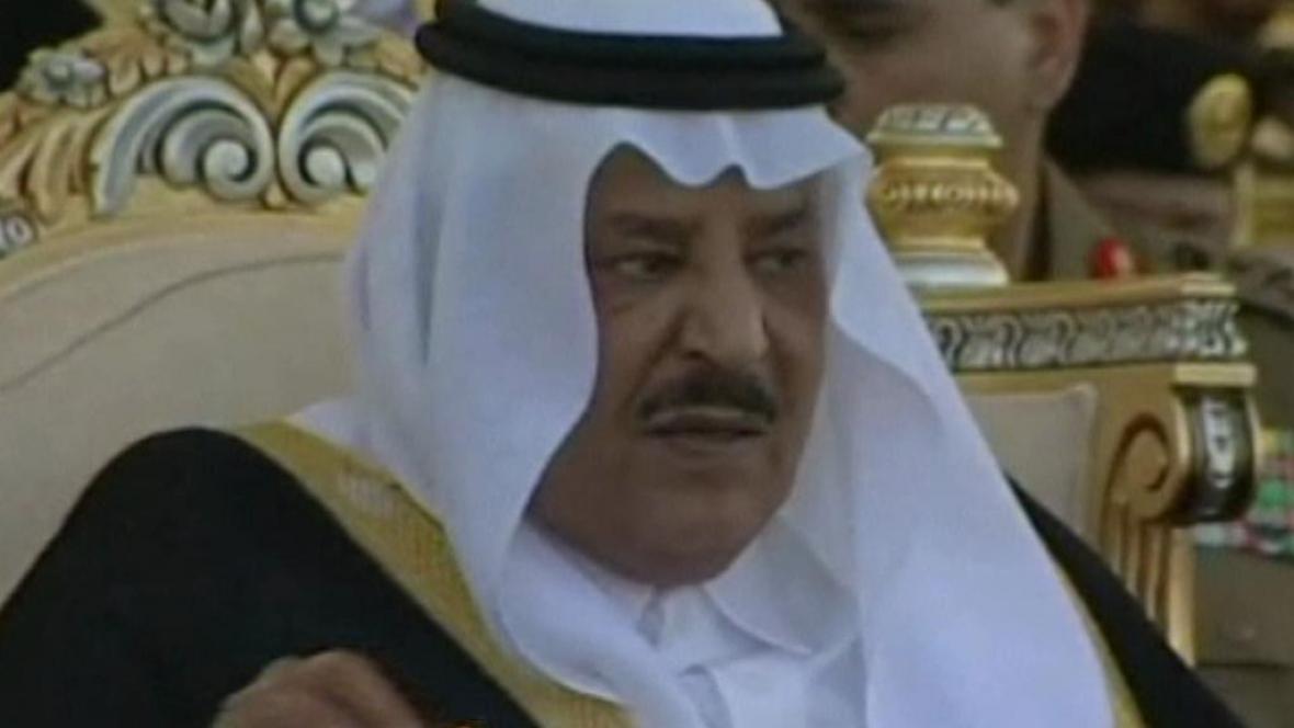 Najíf ibn Abdal Azíz Saúd