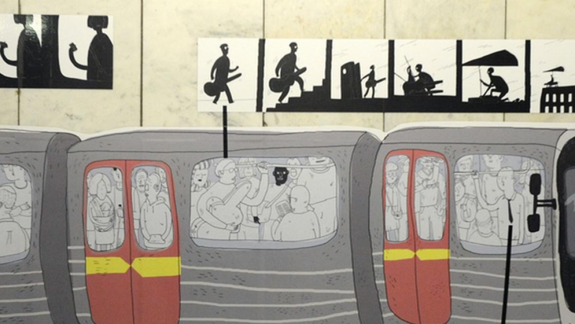 Umění v metru