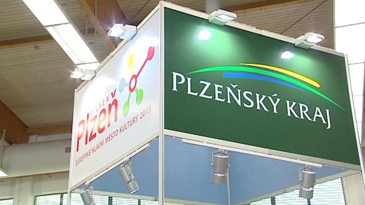 Propagační stánek Plzně na veletrhu ITEP