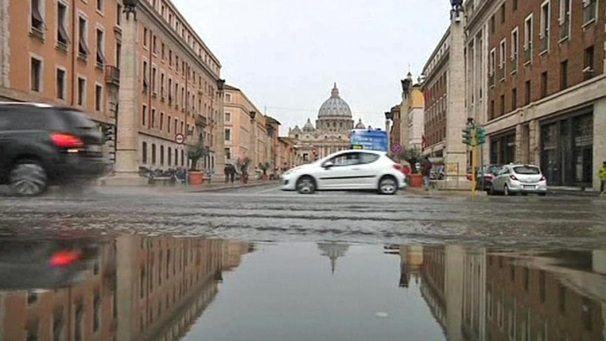 Záplavy v Římě