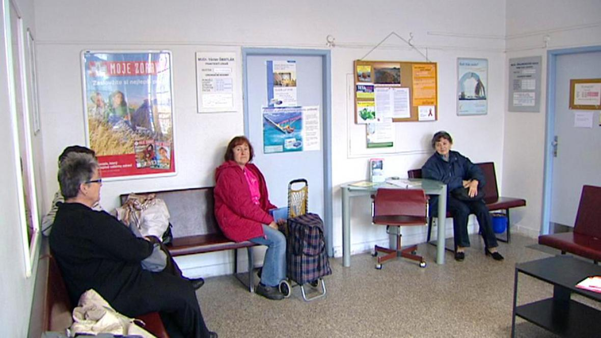 Pacienti v čekárně