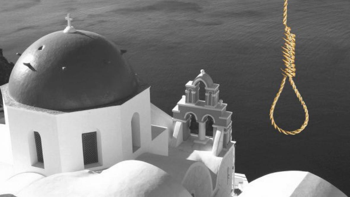 V Řecku roste počet sebevražd