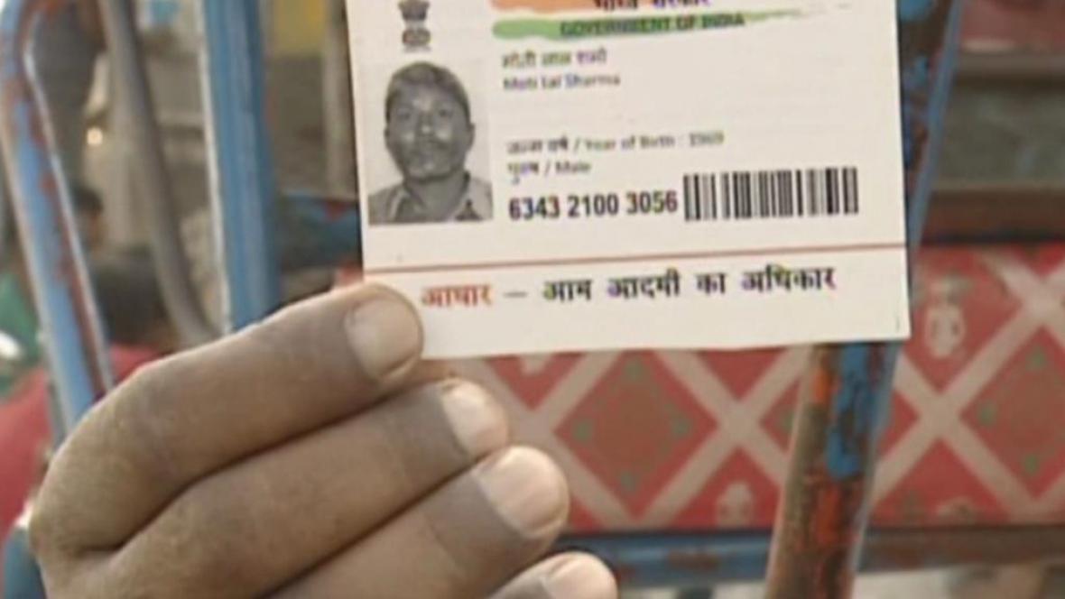 Indická identifikační karta