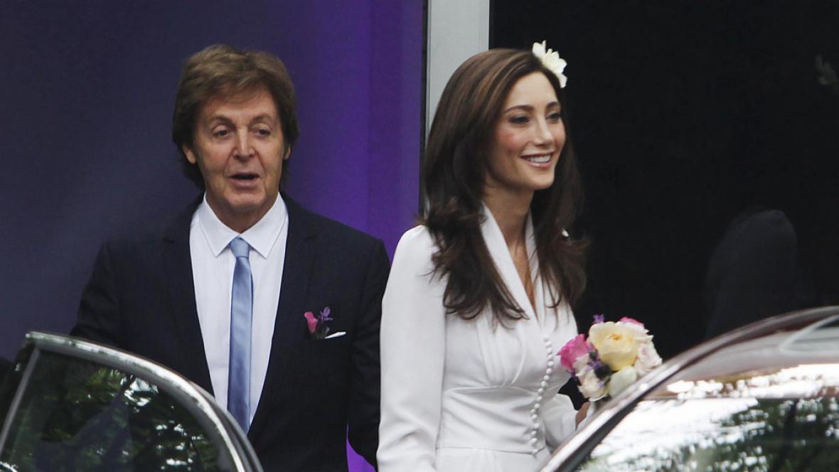 Svatba Paula McCartneyho
