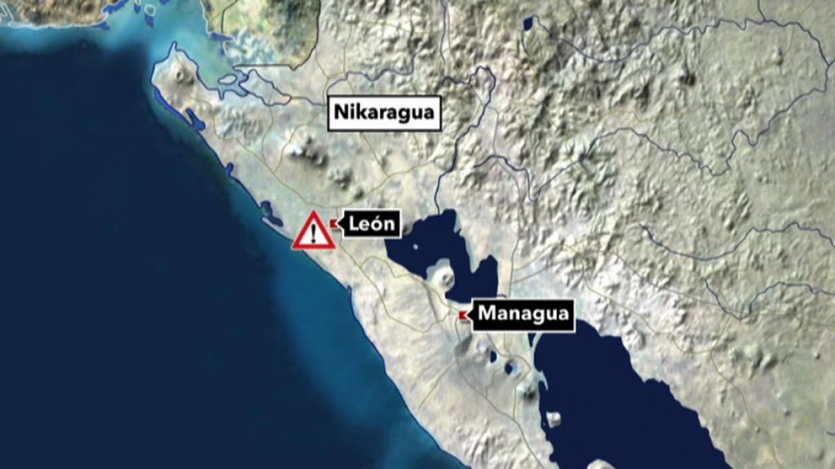 V Nikaragui zemřeli tři Češi