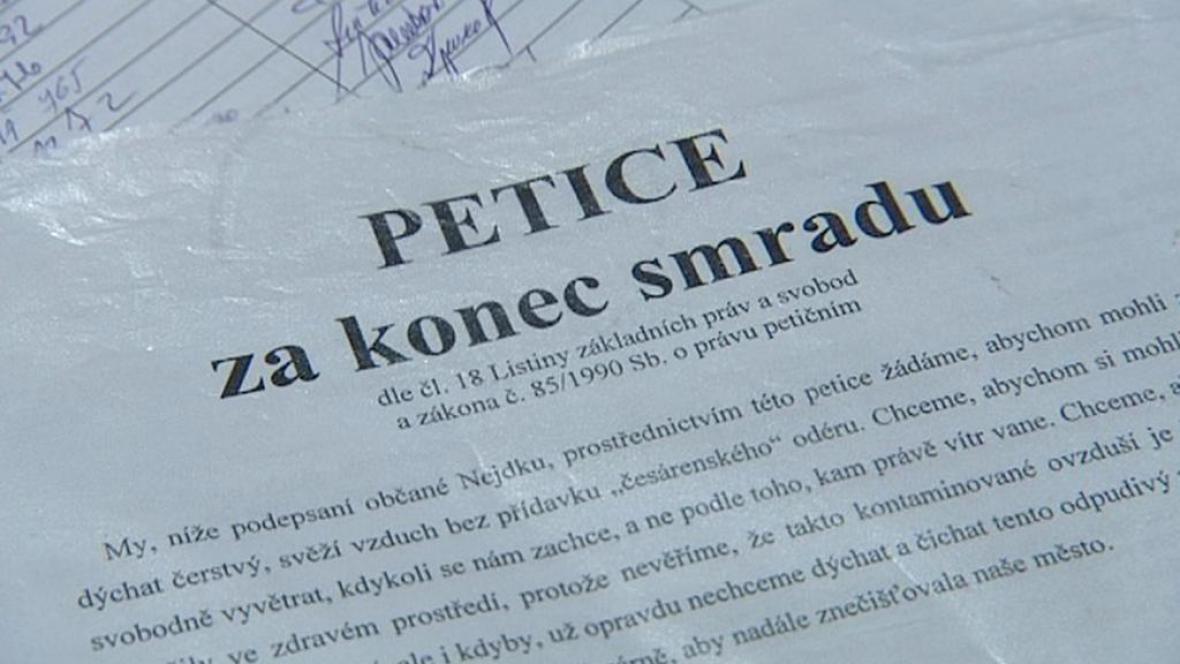 Petice občanů Nejdku