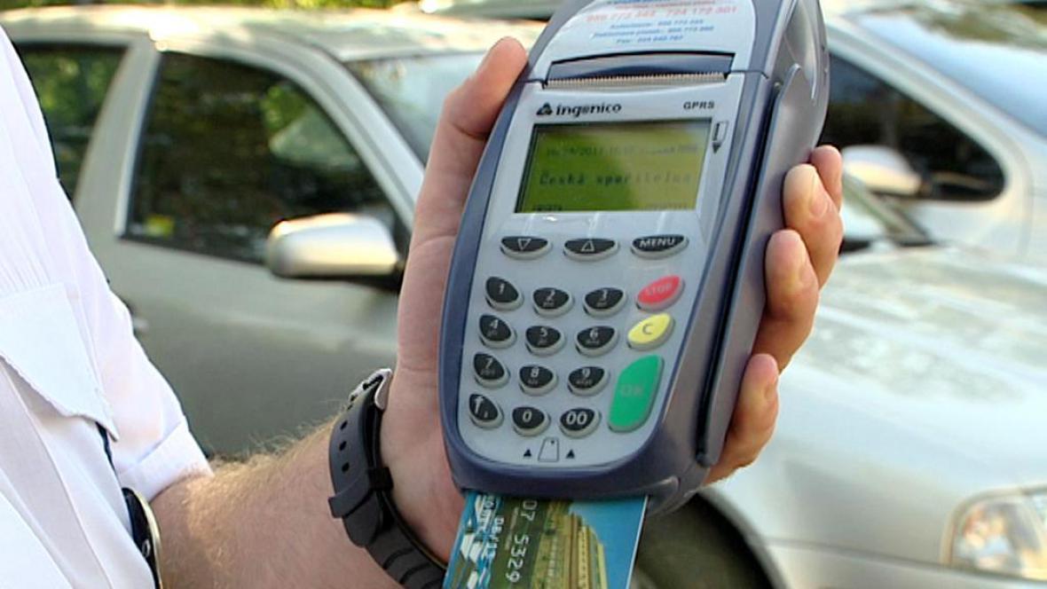 Terminál pro platební karty