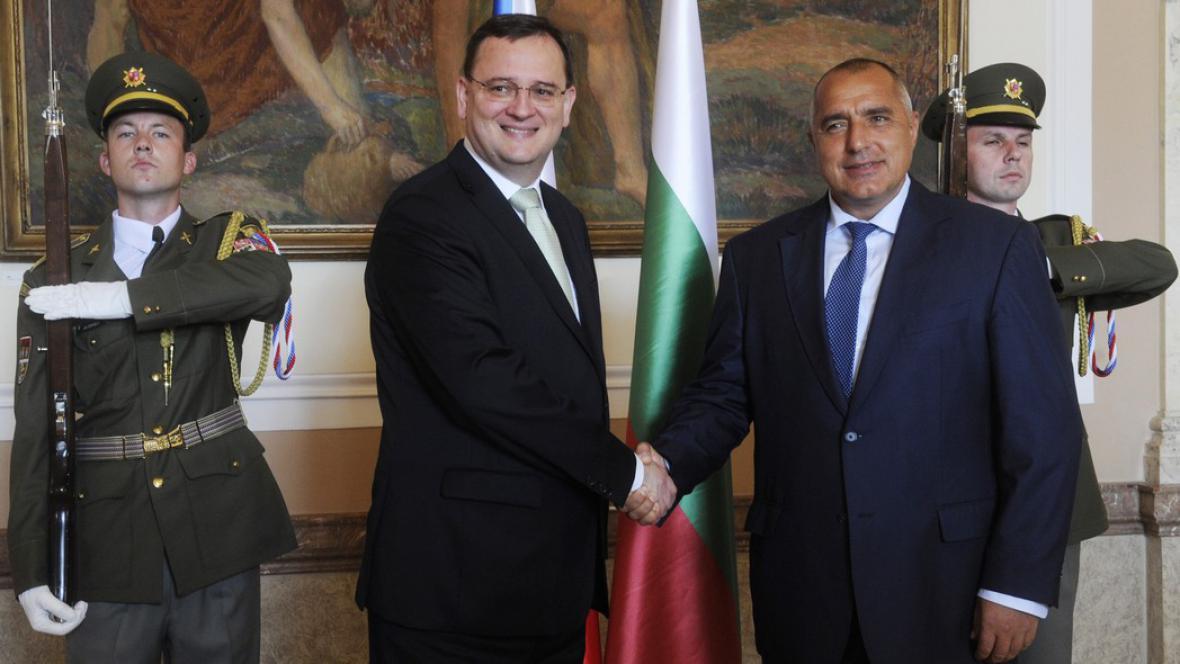 Nečas a Borisov