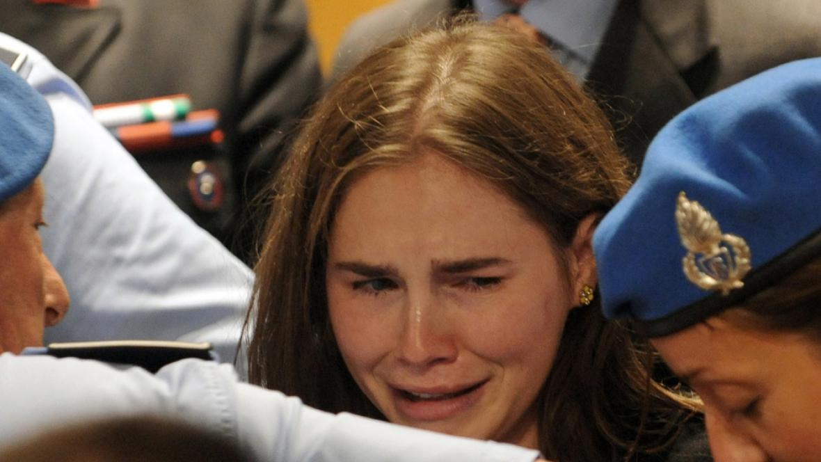 Italský soud osvobodil Amandu Knoxovou