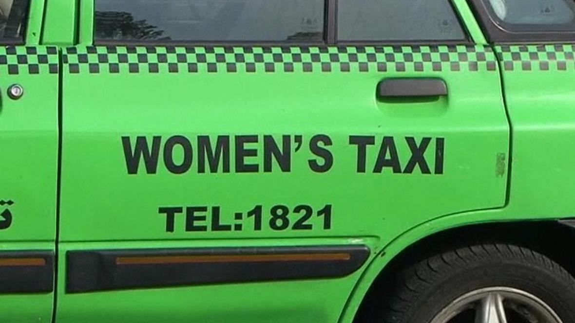 Íránská taxikářská firma pro ženy