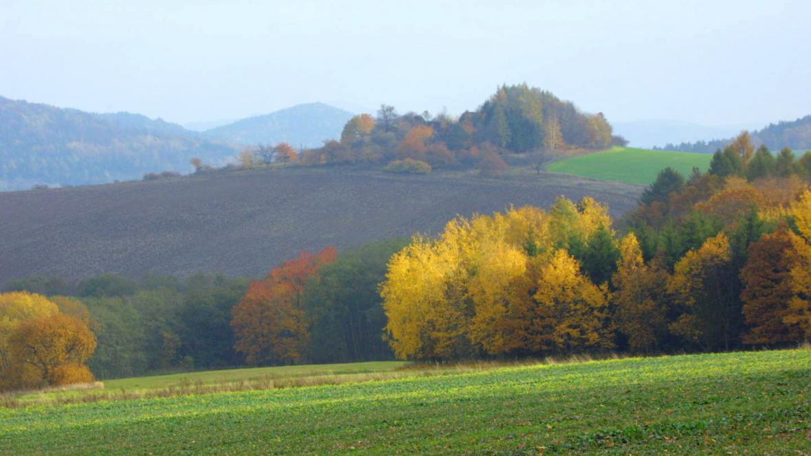 Podzimní příroda