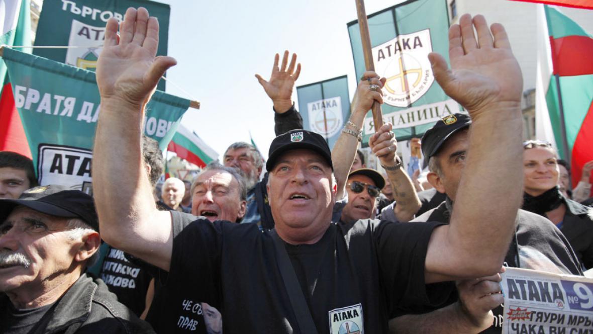 Protiromské protesty