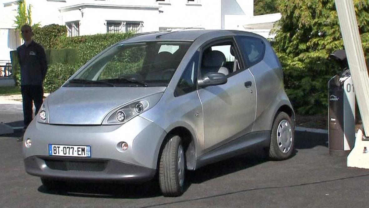 Pařížský elektromobil