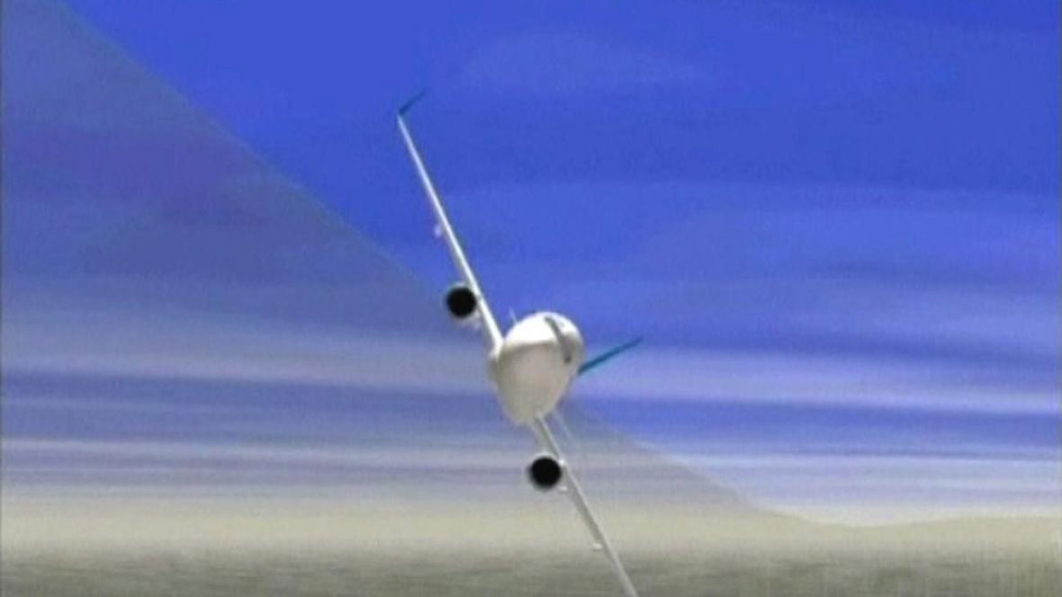Přetočení japonského Boeingu