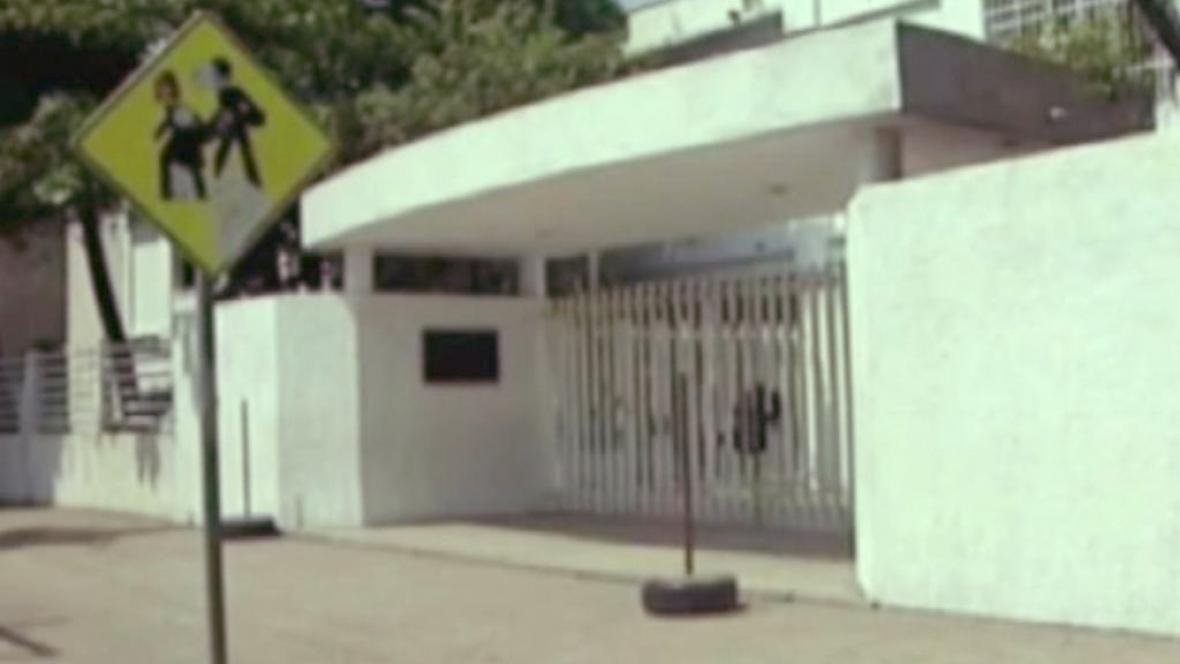 Opuštěná mexická škola