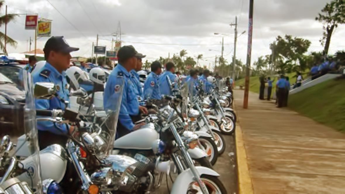 Nikaragujská policie