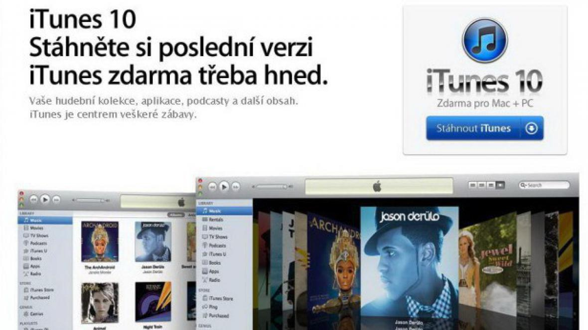 iTunes v češtině