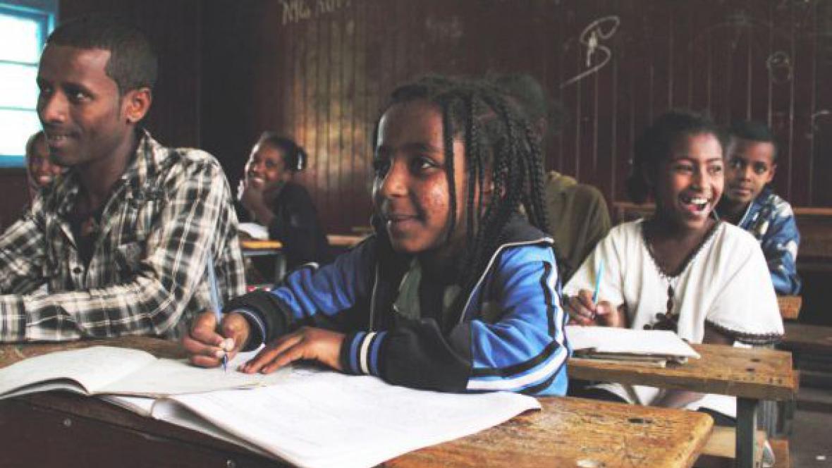 Škola v Etiopii