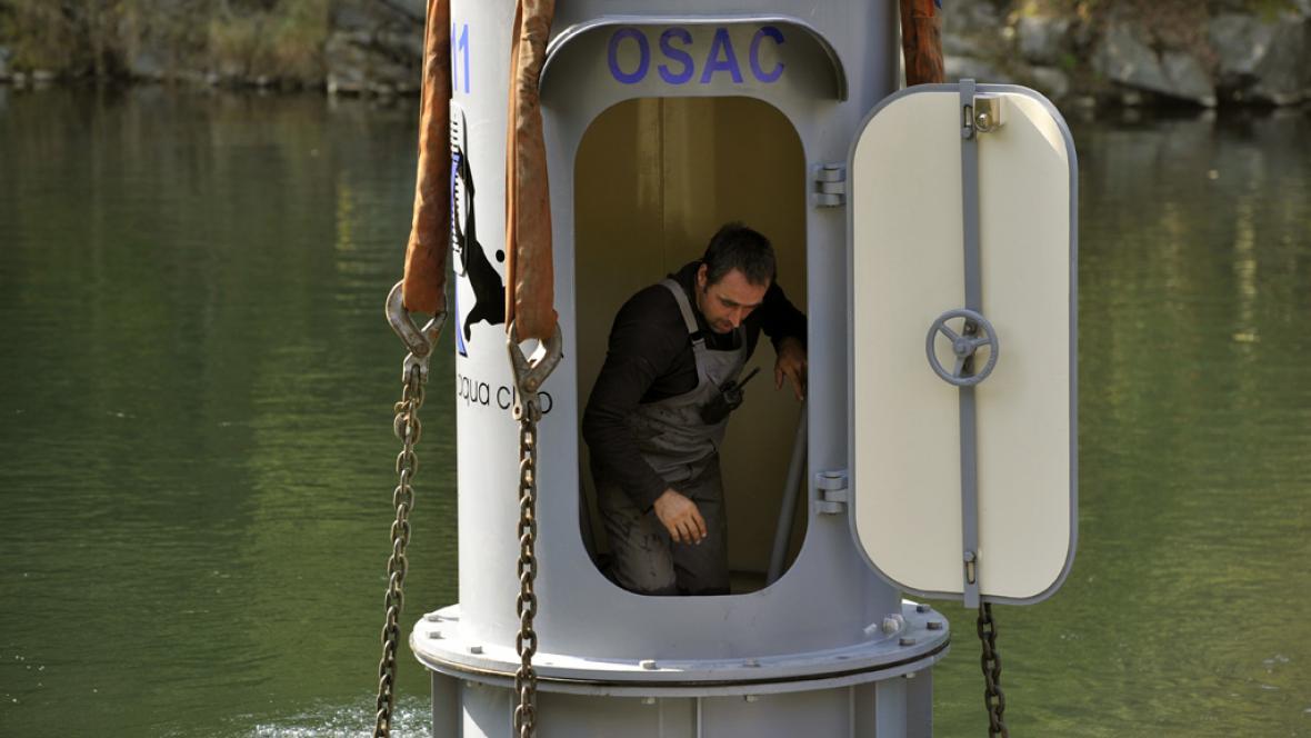 Podvodní pozorovatelna