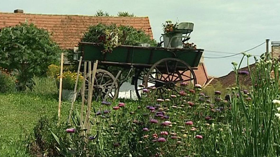 Ukázková zahrada ve Chlumanech