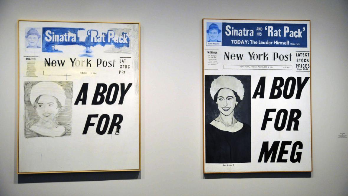 Andy Warhol / A Boy for Meg