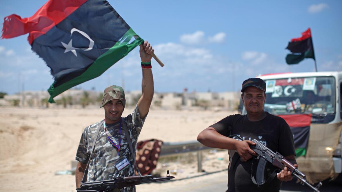 Libyjští rebelové