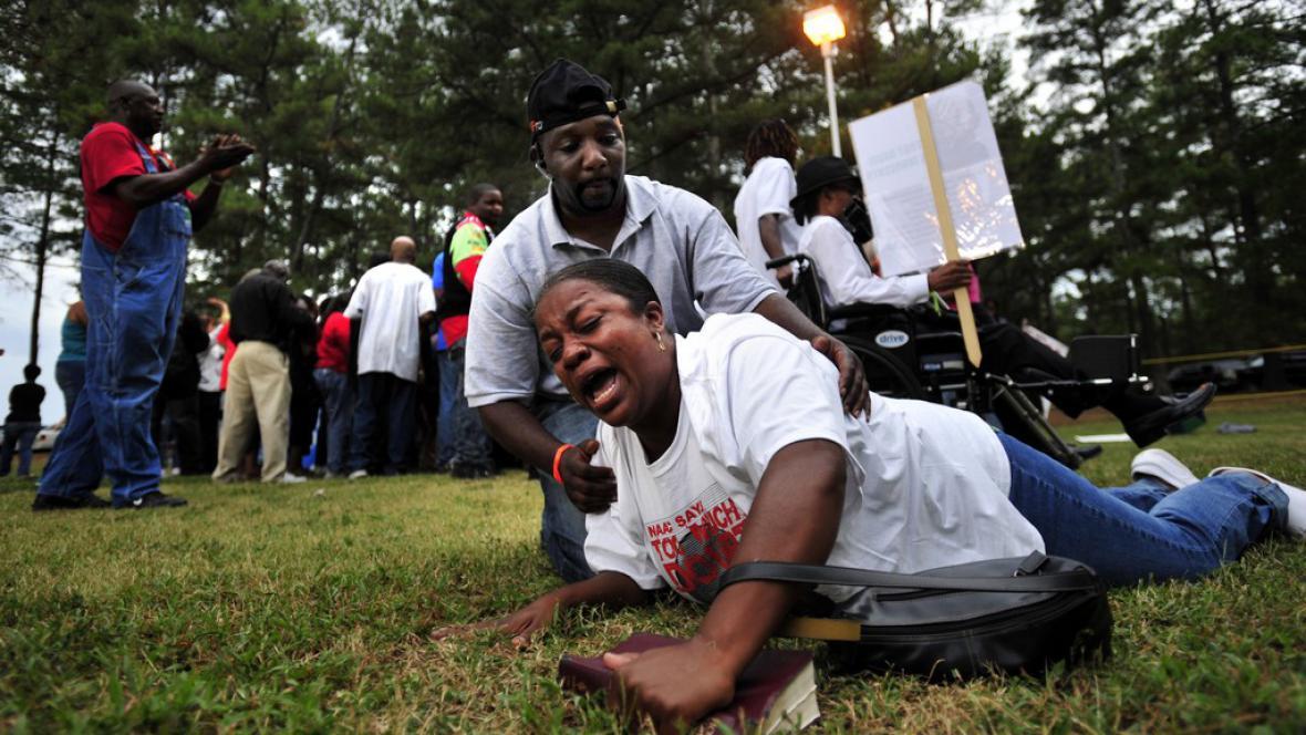 Odpůrci trestu smrti pro Troye Davise