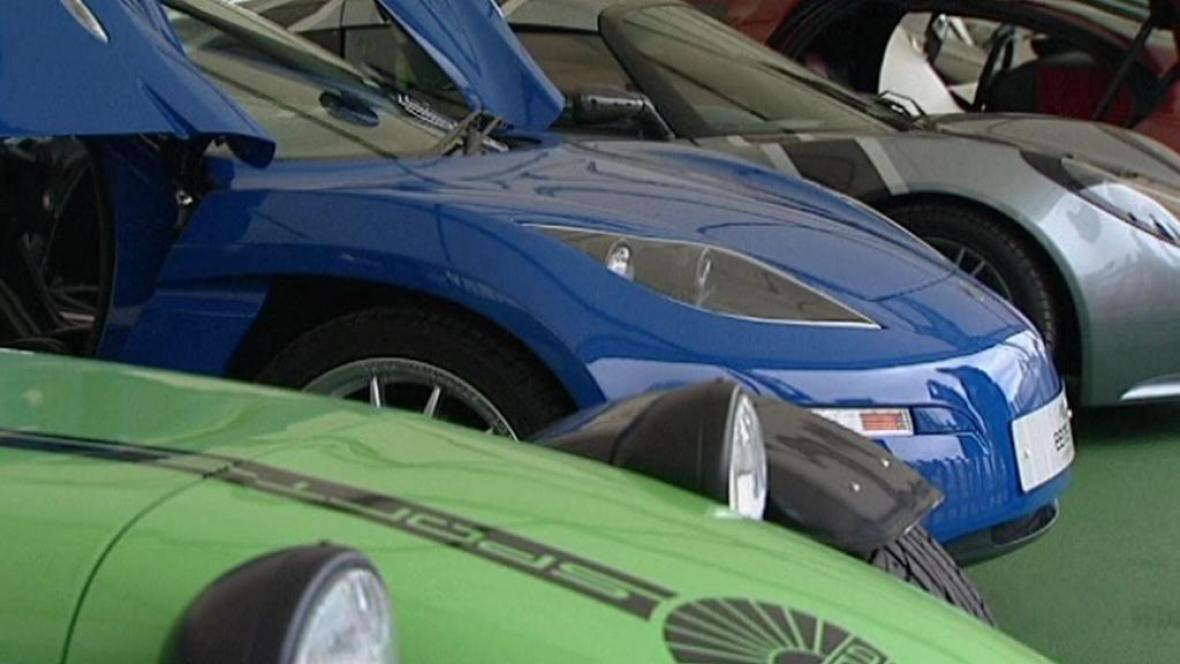 Elektromobily na veletrhu EcoVelocity