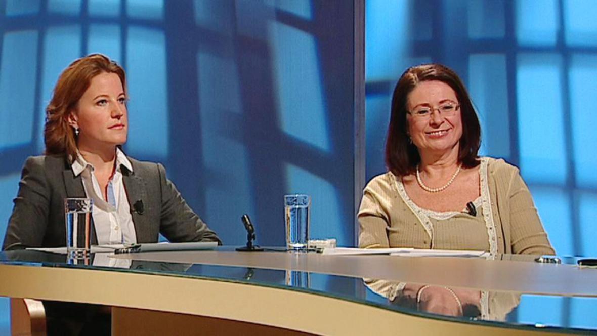 Karolíne Peake a Miroslava Němcová