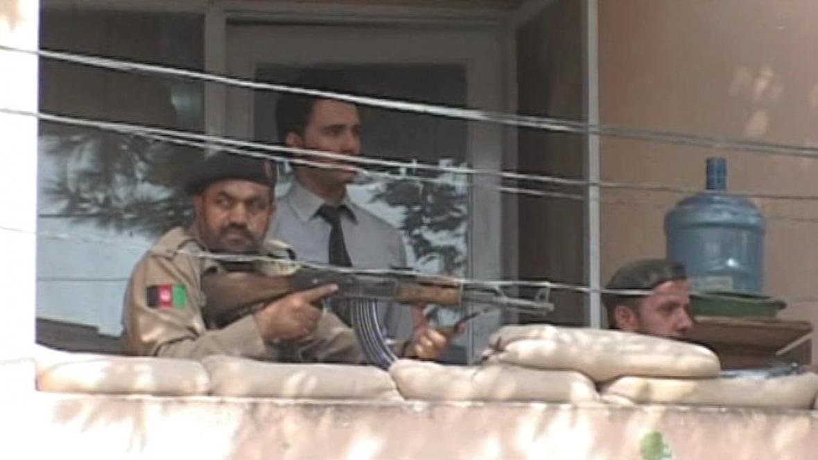 Střelba v centru Kábulu