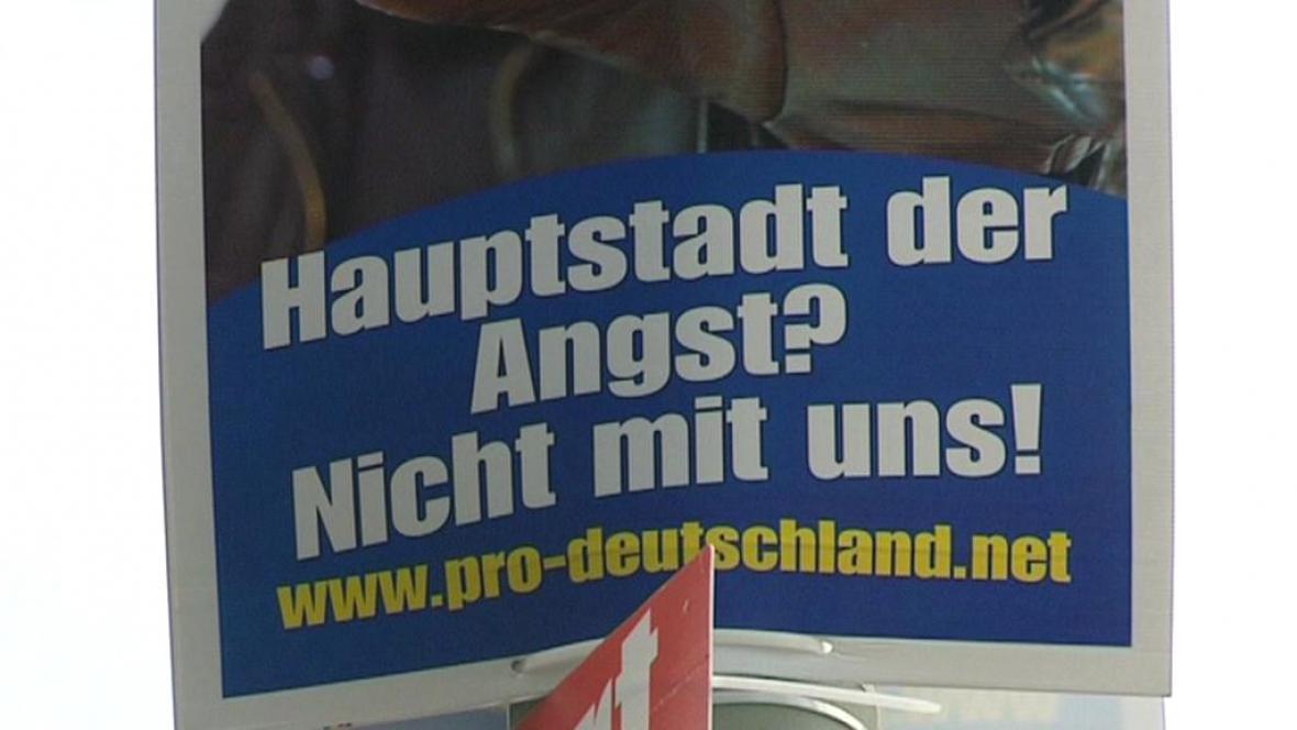 Předvolební kampaň v Berlíně