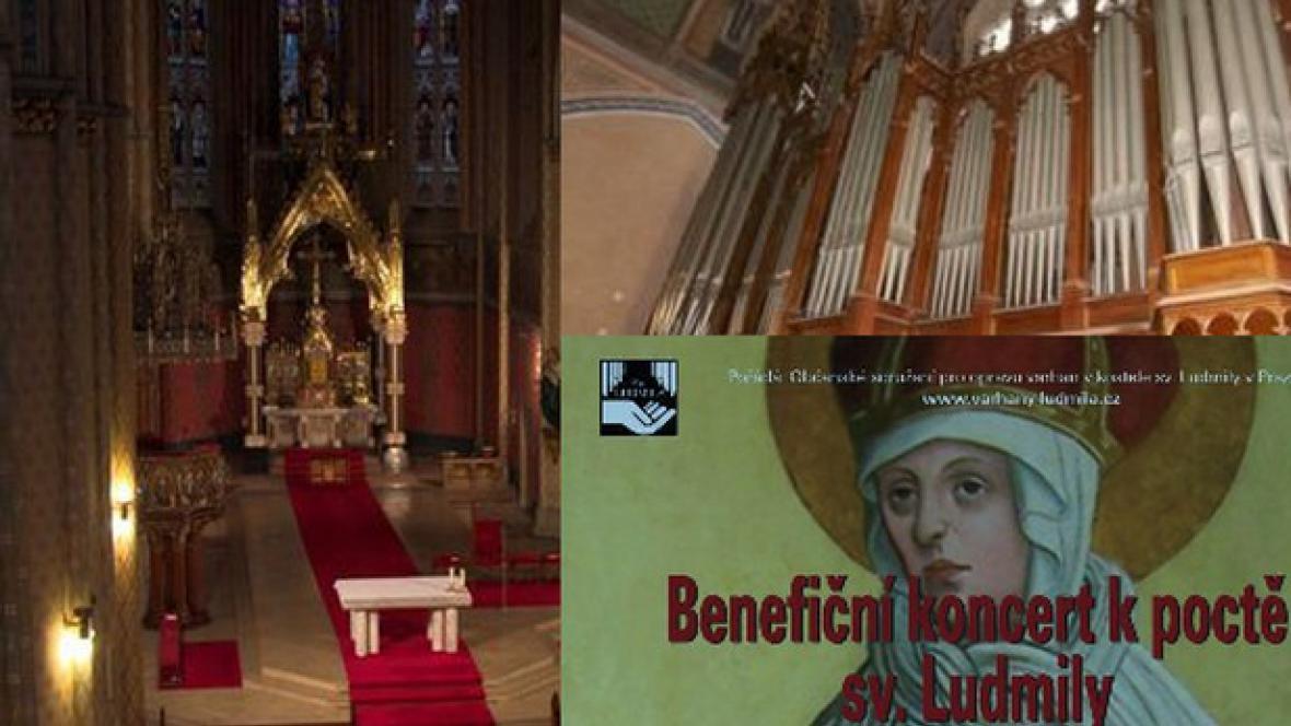 Benefiční koncert pro varhany / pozvánka