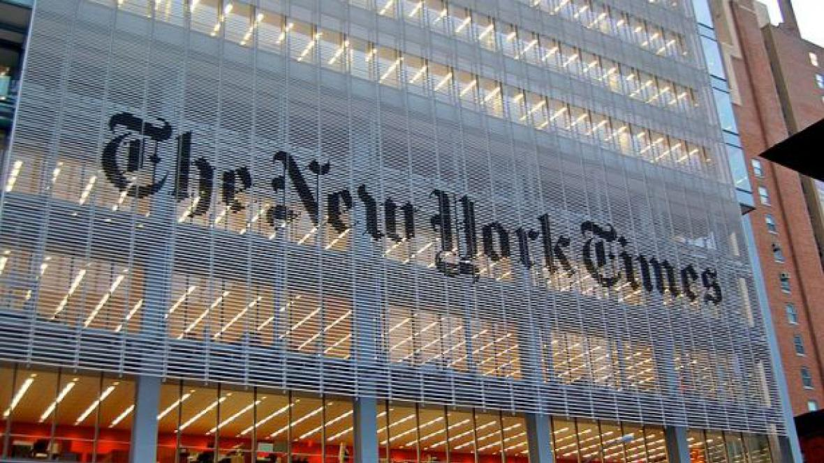 Sídlo The New York Times