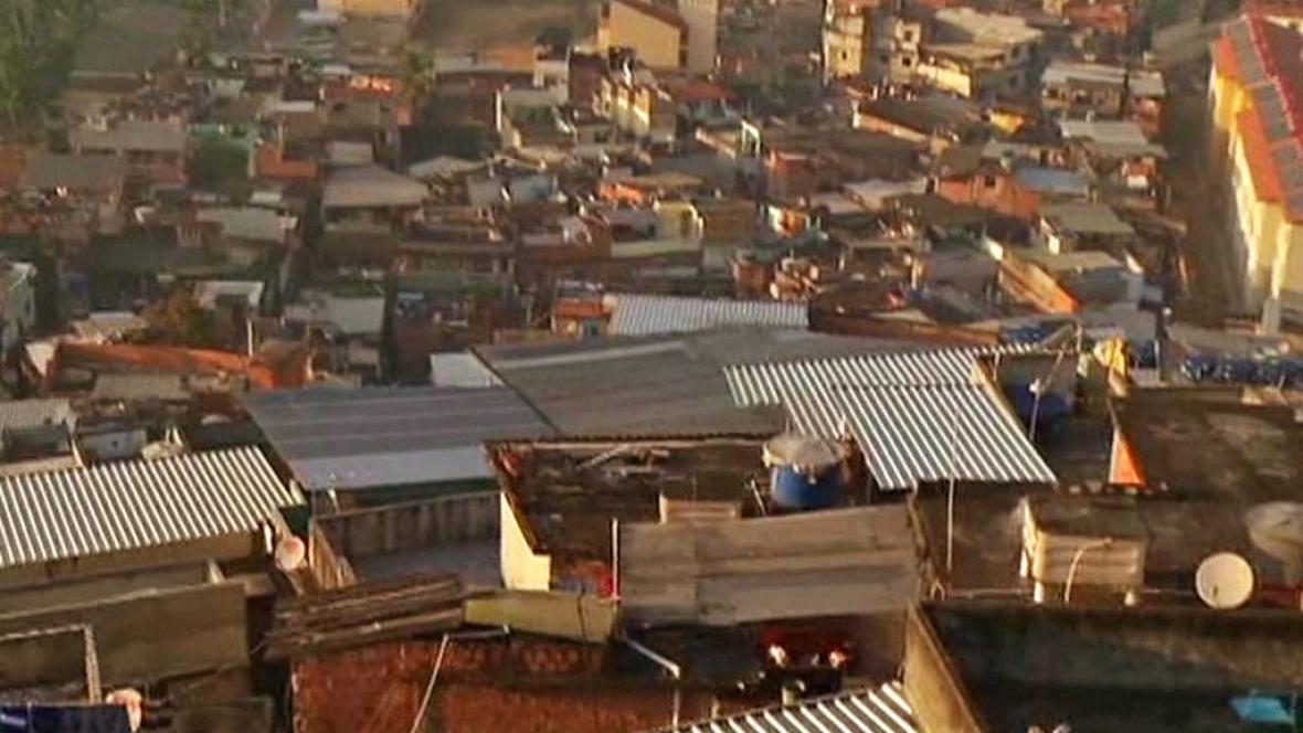Brazilská favela Mangueira