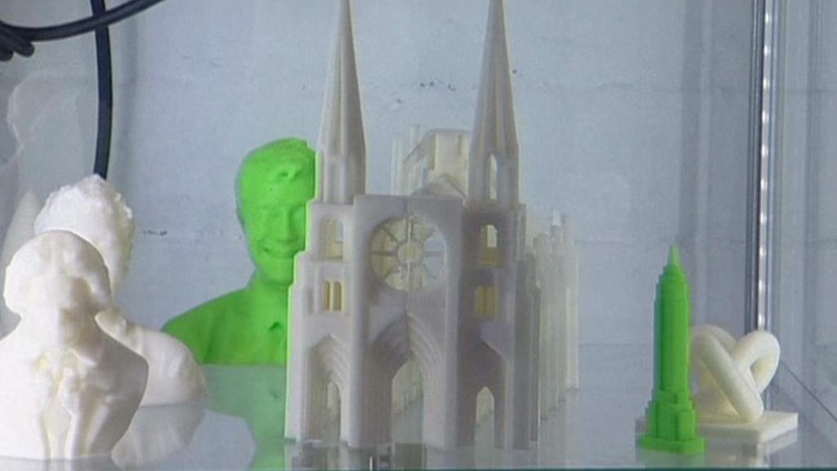 Výrobky z 3D tiskárny