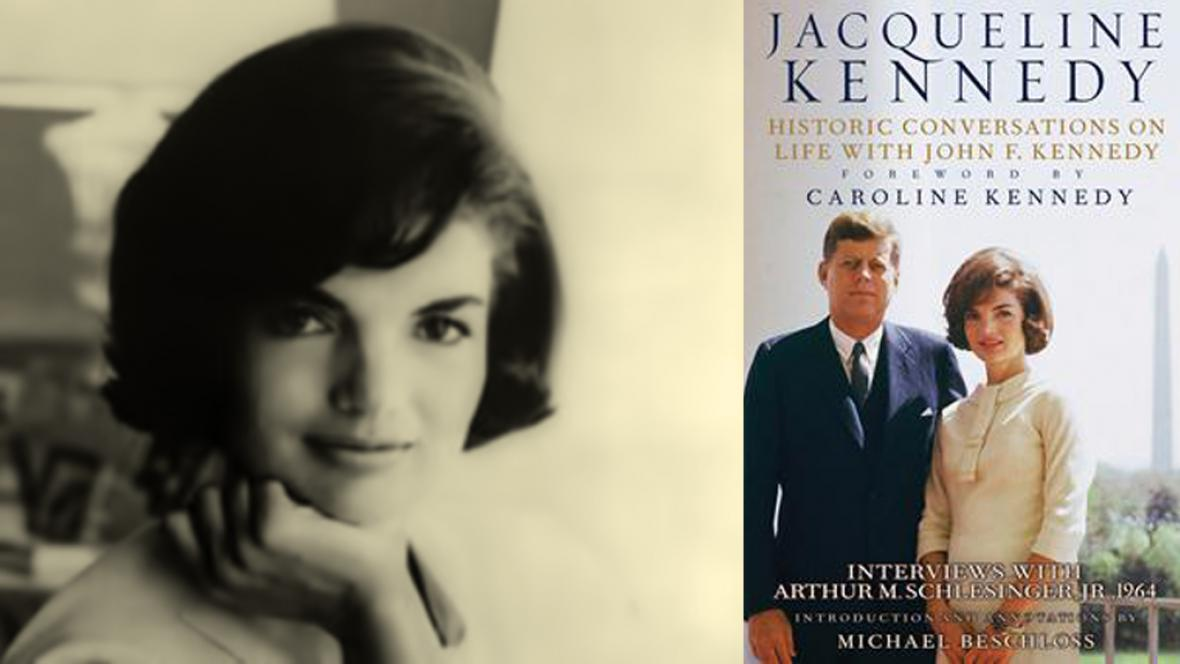 Kniha Jacqueline Kennedyové