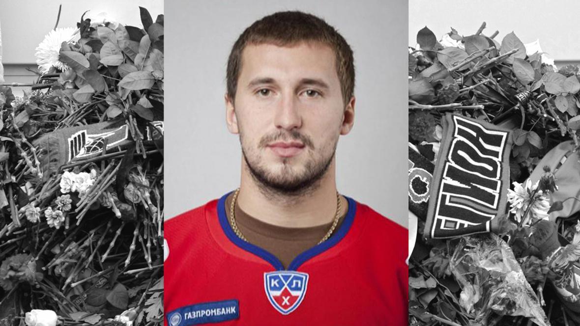 Ruský hokejista Alexandr Galimov