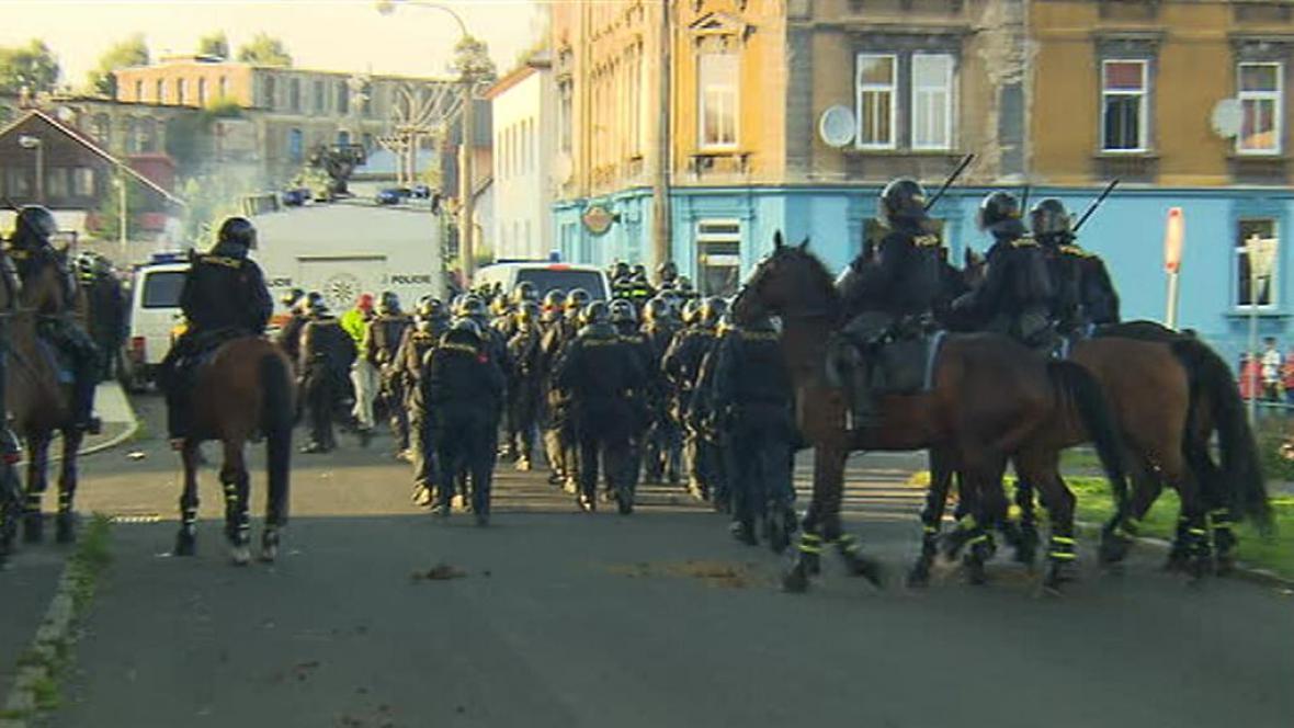 Policisté zasahují ve Varnsdorfu