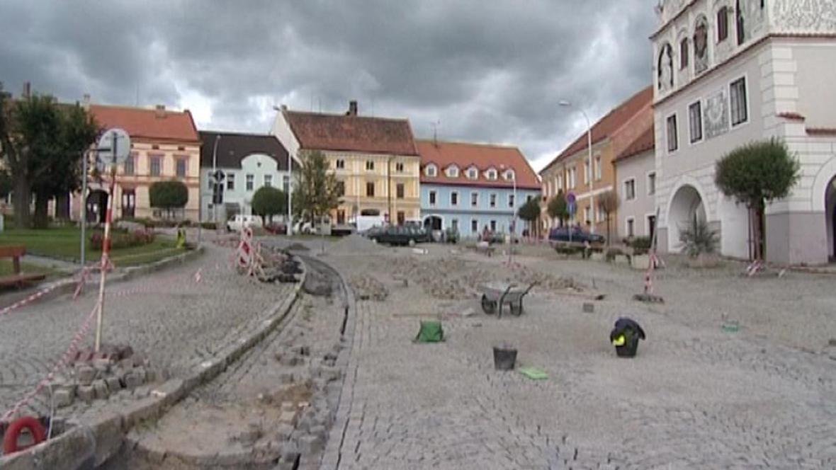 Rekonstrukce volyňského náměstí