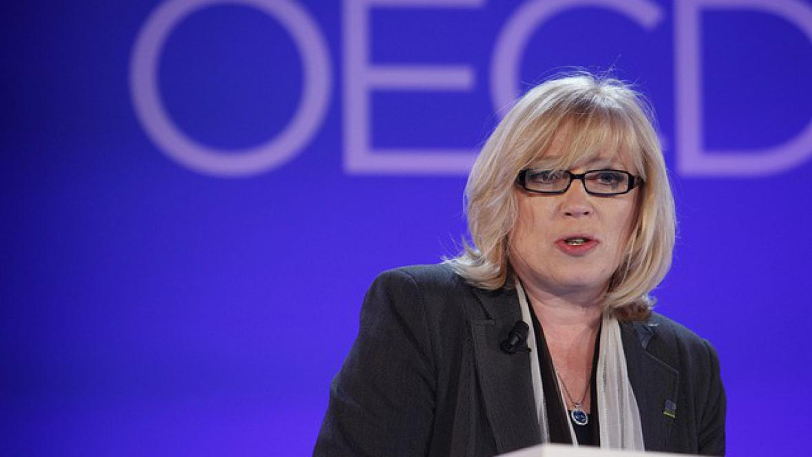 Iveta Radičová na konferenci OECD