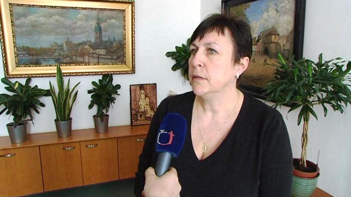 Primátorka Štěpánka Fraňková