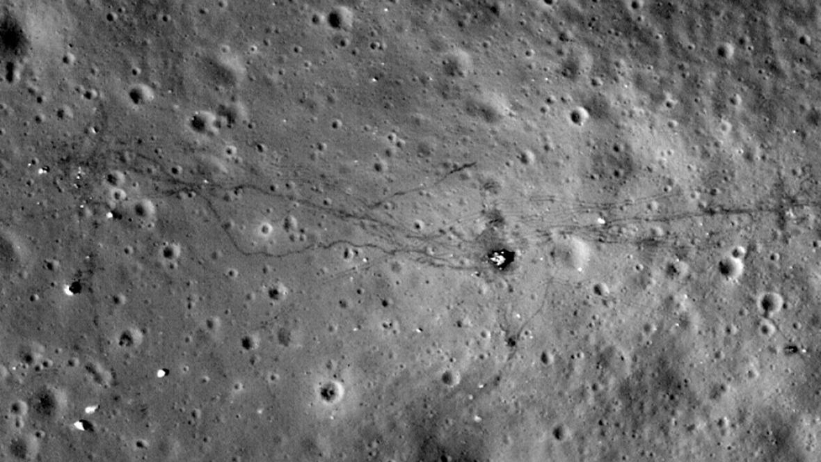 Exkluzivní fotky Měsíce